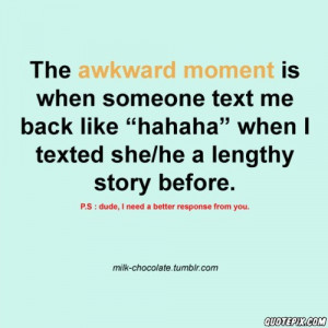 That Awkward Moment When Quotes