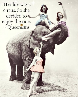Goodbye cruel world, I'm off to join the circus..!!