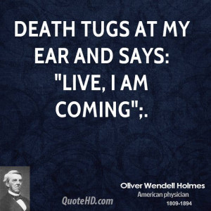 Death Is Coming Quotes