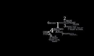 Quotes Fight Wallpaper 1680x1008 Quotes, Fight, Club, Typography