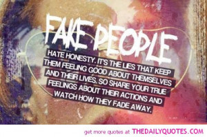 Displaying (13) Gallery Images For Quotes About Fake Love...