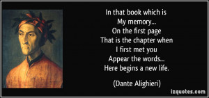 More Dante Alighieri Quotes