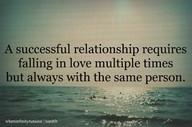Falling in love everyday requires effort