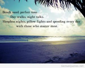 Summer beach sand tumblr quote
