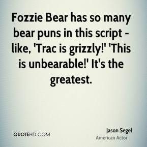 Fozzie Bear Quotes