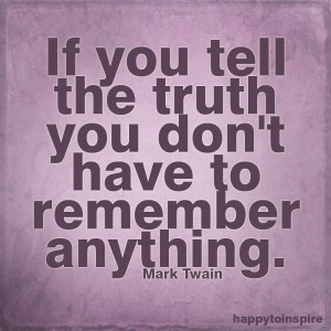 Quote of the Day: Quote for the Liars