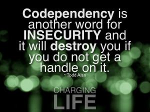 Codependency is...