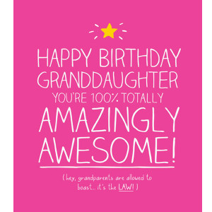 Birthday Cards for Great Granddaughter from Greeting Card