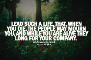 ... care, hazrat ali, hqlines, islam, life, love, muslim, people, quotes