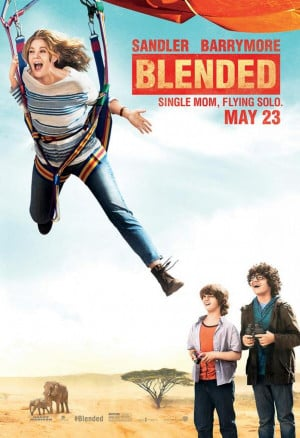 BLENDED Poster Featuring @AdamSandler And @DrewBarrymore
