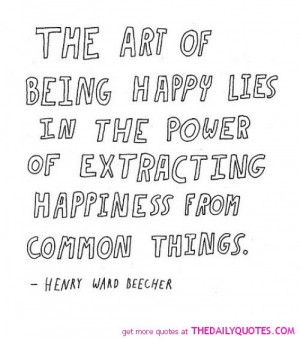 Being Happy Quotes And Sayings Being happy