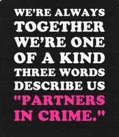 Quotes About Partners in Crime