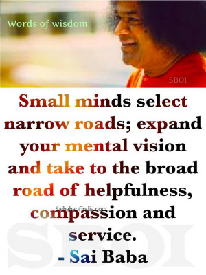 sathya sai baba Quotes & sayings with photos