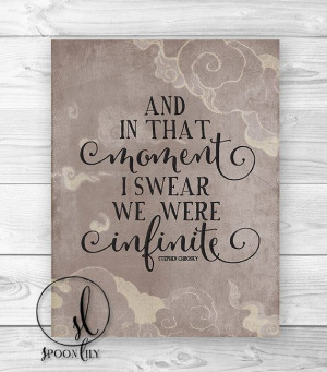 Typography quote print Practical Magic movie quote by SpoonLily