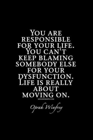 Quotes Accepting Responsibility ~ Quotes About Personal Responsibility ...