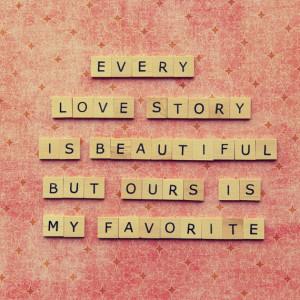 Love quote photograph- valentines day wedding anniversary - scrabble ...