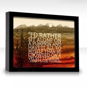 Henry David Thoreau (1817 - 1862), American author, naturalist ...