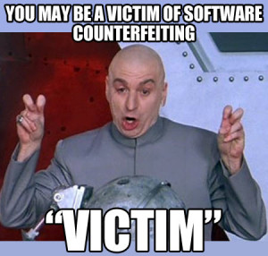 You may be a victim…
