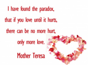 Printable Mother Teresa Love Quotes