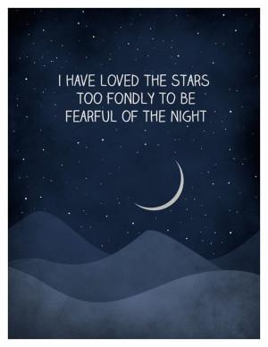 ... the stars Quote Art, Galileo Quote, Inspirational Art, Typographic