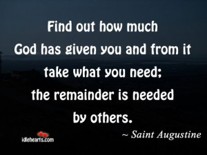 Quote by Saint Augustine