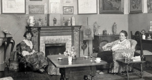Photo of Alice Toklas and Gertrude Stein at home by Man Ray, included ...