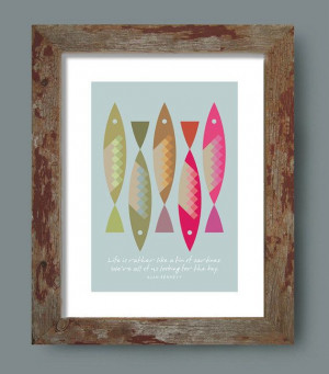 Kitchen art Inspirational Quote Retro Poster by visualphilosophy, $24 ...