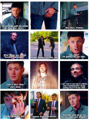 Funny supernatural quotes! Except one