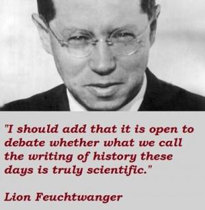 Lion feuchtwanger famous quotes 5