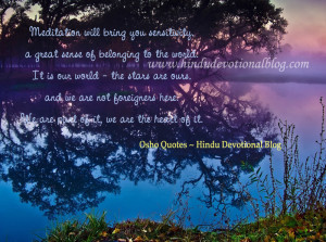 Osho Quotes on Meditation and Spirituality Picture