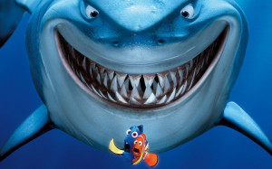 Bruce, Nemo and Dory - Finding Nemo wallpaper