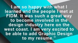 ... Graphic Design Student of the Year Award Winner, Tovah Moreno-Black