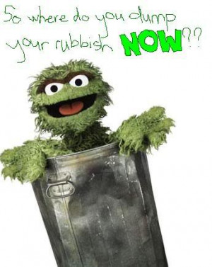 Oscar the Grouch is a monster who actually lives in a rubbish bin who ...