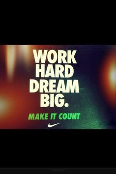 dream #work #quote #sports More