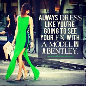 Dress to impress !