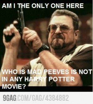 harry potter #peeves #peeves the poltergeist