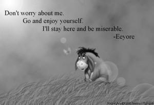 Sad Eeyore Quotes