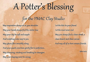 """Potter's Blessing"""" for the New Year"""