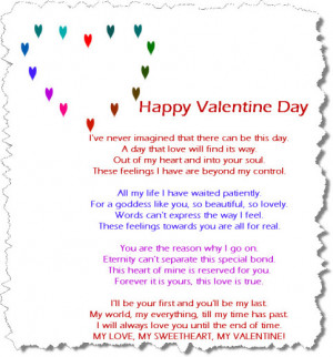 ... Happy Valentine Day 2014 Greeting Cards with Romantic Love Quotes (36