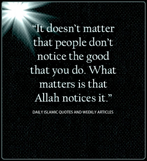 Islamic Quotes About Good Deeds | 56 Quotes | IslamicArtDB.
