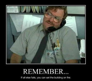 Office Space Funny Quotes. QuotesGram