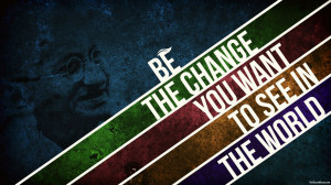 Mahatma Gandhi Quotes Be Change 540x303 Mahatma Gandhi Quotes Be ...
