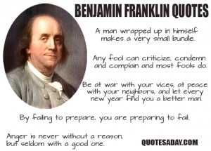 benjamin franklin quotes famous quotes and authors quick biography ...
