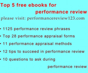 Performance Appraisal Phrases