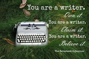 To A Writer, By A Writer