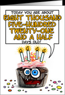 Happy birthday - 23 years old card - Product #277495