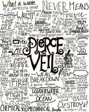 Pierce the Veil lyricsMusic, Ptv, Amazing Band, Band Stuff, Favorite ...