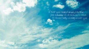 Love, sky, blue, white, sign, quote, message, decl desktop wallpapers ...