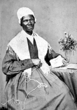 as a slave to an estate in Ulster County, New York, Sojourner Truth ...