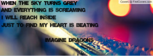 Imagine Dragons Quotes Bleeding Out Imagine Dragons